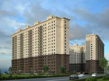 Монолитно-кирпичный жилой комплекс